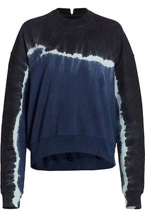 PROENZA SCHOULER WHITE LABEL Tie-Dyed Cotton Sweatshirt