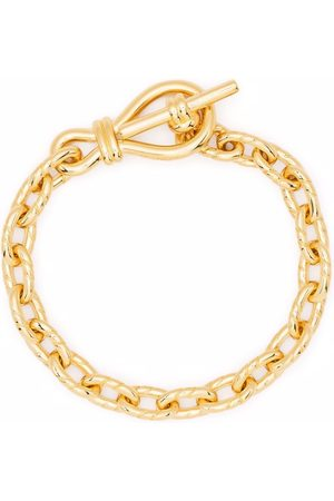 Missoma Twisted link t-bar chain bracelet
