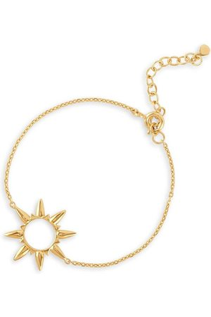 Dinny Hall 22kt yellow Sunbeam Marie bracelet