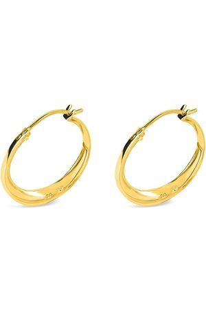 Dinny Hall 22kt yellow Signature small hoop earrings