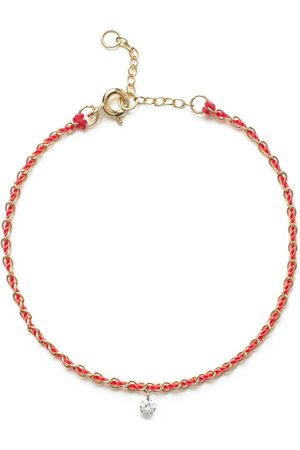 The Alkemistry 18kt yellow Vianna chain thread diamond bracelet