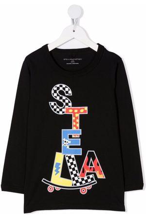 Stella McCartney Stella Skate-print sustainable cotton T-shirt