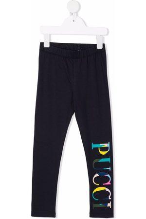 Emilio Pucci Logo print leggings