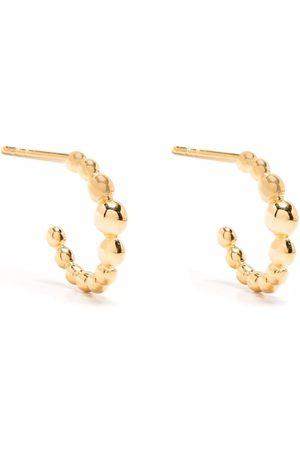 Missoma Beaded mini hoop earrings