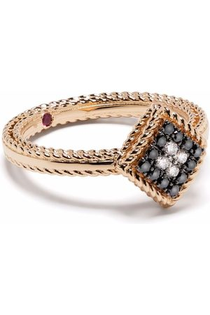 Roberto Coin 18kt rose gold Palazzo Ducale diamond ring