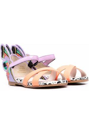 SOPHIA WEBSTER Girls Sandals - Butterfly-embellished sandals