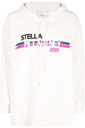 Stella McCartney Moto logo-print hoodie