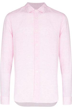 Orlebar Brown Giles long sleeve shirt