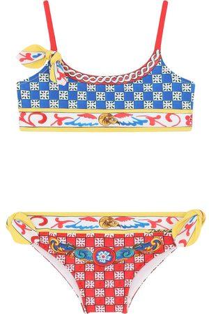 Dolce & Gabbana Geometric-print bikini