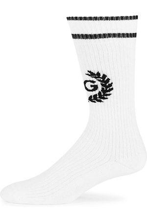 Dolce & Gabbana Men Socks - Crest Logo Socks