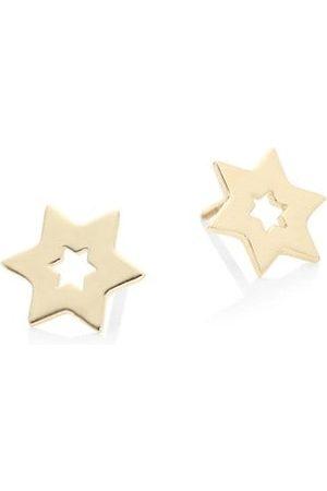 Lana Girl Girls Earrings - Star 14K Yellow Stud Earrings