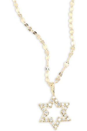 Lana Girl Mini Star Diamond Pendant Necklace