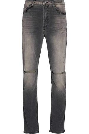 Monfrere Brando Distressed Greigio Slim Jeans