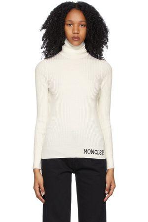 Moncler Wool Ribbed Turtleneck