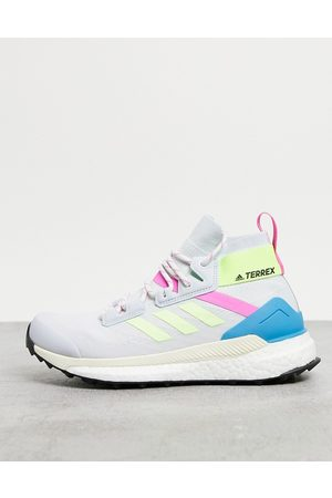 adidas Adidas Outdoors Terrex Prime blue Free Hiker trainers in multi