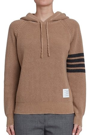 Thom Browne Garment-Dyed Cashmere Hoodie
