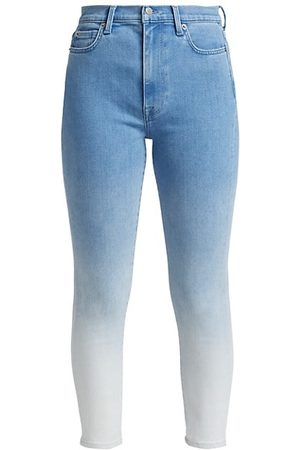 7 for all Mankind Women Skinny - Ombre Ankle Skinny Jeans