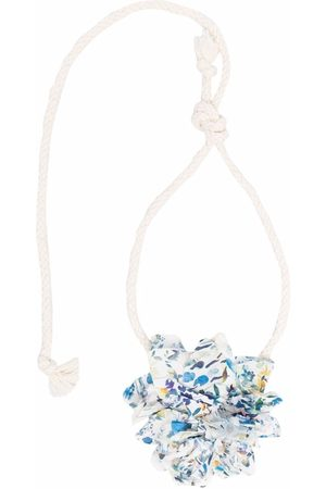 Zhoe & Tobiah Floral-appliqué rope belt