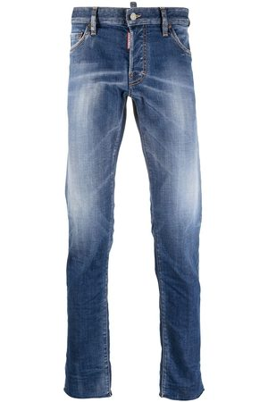 Dsquared2 Raw-edge low-rise skinny jeans