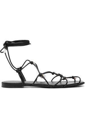 Altuzarra Pearl wraparound sandals