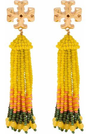 Tory Burch Roxanne tassel beaded earrings