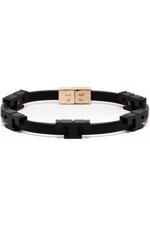 Tory Burch Serif-T powder-coated bracelet