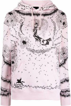 Givenchy Graphic-print long-sleeve hoodie