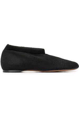 Proenza Schouler Rondo knit-sock flat shoes