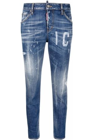 Dsquared2 Icon Cool Girl cropped jeans