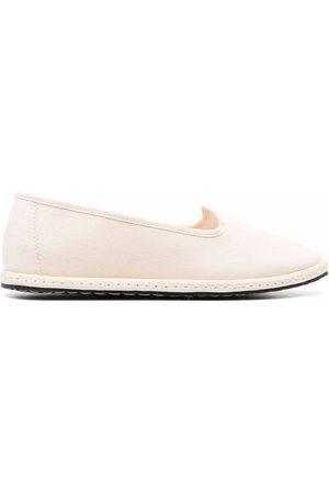 VIBI VENEZIA Grosgrain-trimmed loafers