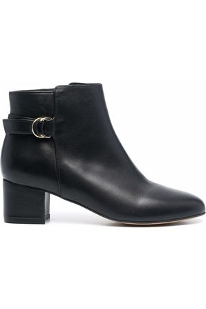 Tila March Nordic buckled ankle boots