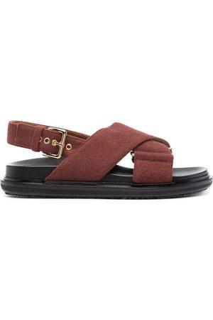 Marni Fussbett wool sandals