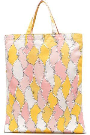 Emilio Pucci Losanghe shopping tote bag