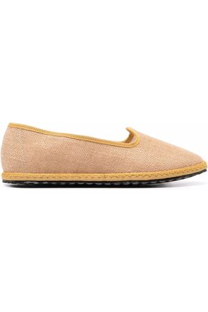 VIBI VENEZIA Grosgrain trim loafers