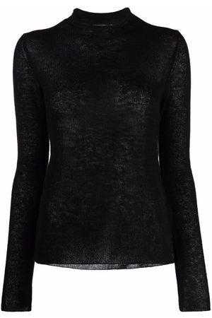 Jil Sander Women Long Sleeve - Long-sleeved cashmere-knit sweater