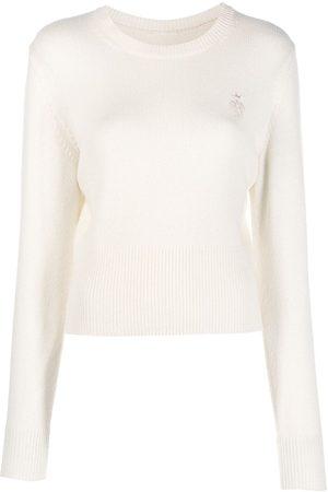 Emilio Pucci Embroidered logo cashmere jumper