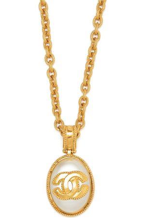 CHANEL 1996 CC pendant chain necklace