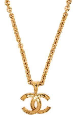 CHANEL 1994 CC logo long necklace