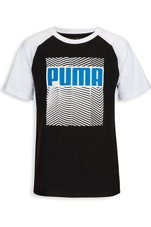 PUMA Girls Short Sleeve - Girl's Downtown Pack Jersey T-Shirt