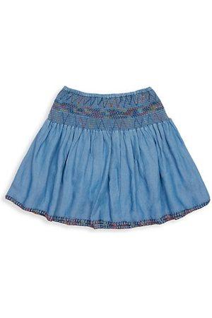 Peek & Beau Little Girl's & Girl's Donatella Pixie Denim Skirt