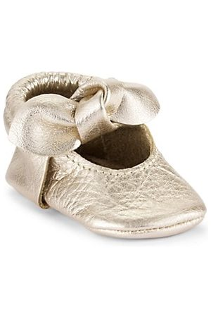 Freshly Picked Baby Girl's Knotted Bow Moccasins