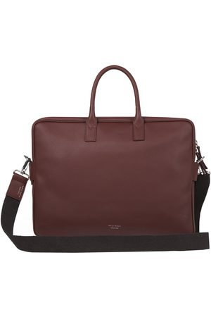 Meli Melo Men Briefcases - Briefcase in Brown Leather for Men