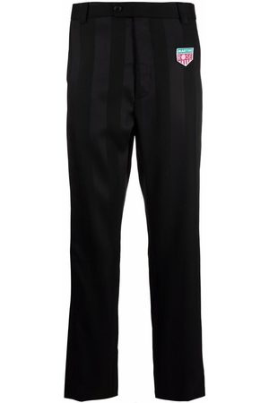 MARTINE ROSE Appliqué-patch tailored trousers