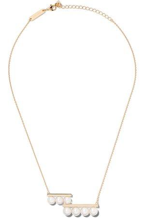 TASAKI Women Necklaces - 18kt yellow Balance step pearl pendant
