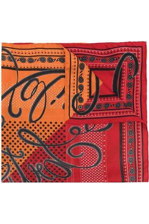 Faliero Sarti Monni square silk scarf