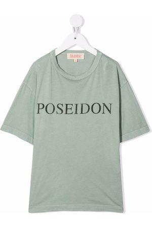 The Animals Observatory Poseidon logo-print T-shirt