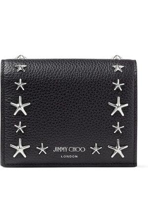 Jimmy Choo Hanne star-stud wallet