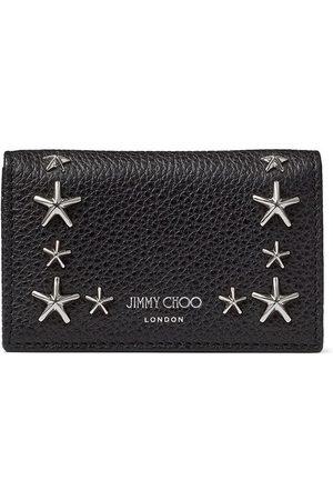 Jimmy Choo Nello star stud-embellished wallet