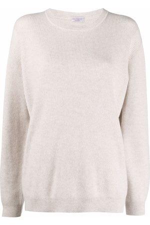 Brunello Cucinelli Long-sleeve knitted jumper