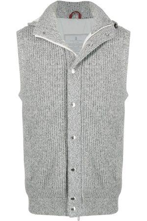Brunello Cucinelli Knitted padded gilet